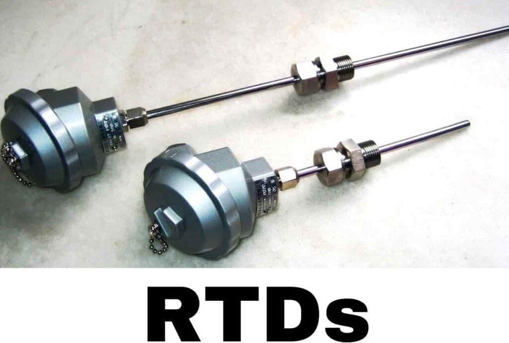 RTDs temperature sensor works