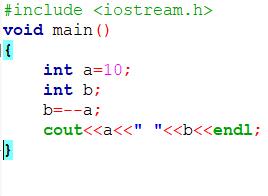 example 2 operators in c++