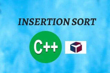 insertion sort algorithm featured