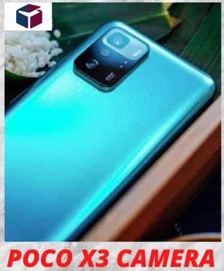 Poco x3 price - Camera details