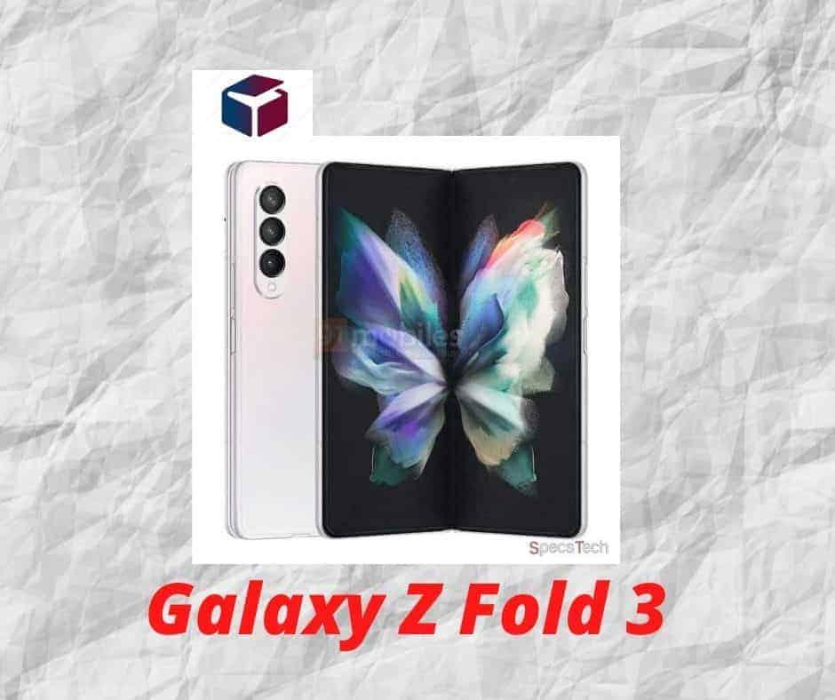 Samsung Galaxy Z Fold 3 display